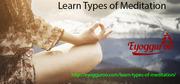 Learn Types of Meditation form eyogguroo