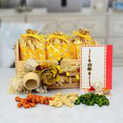 Buy Rakhi With Sweets Online - MyFlowerTree